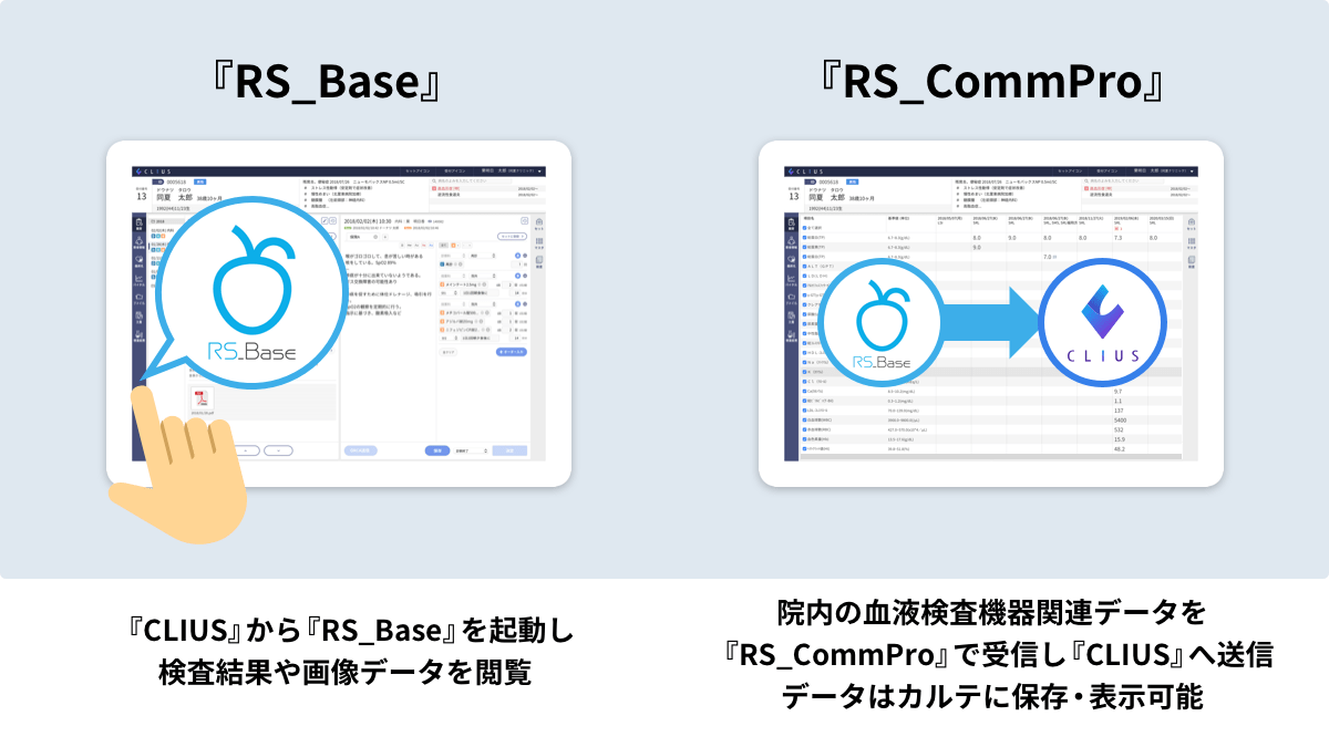RS_BaseとRS_Commproの説明